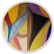 Dream 330 Round Beach Towel