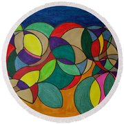 Dream 87 Round Beach Towel