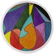 Dream 96 Round Beach Towel
