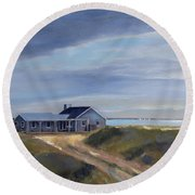Dream Home Round Beach Towel