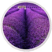 Dream Land Round Beach Towel