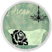 Dream Round Beach Towel