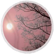Dream State Round Beach Towel