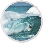Dream Surf Round Beach Towel