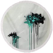 Dreamers Round Beach Towel