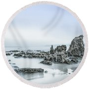 Dreamesque Round Beach Towel