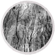 Dreaming Of Vincent Round Beach Towel