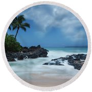 Dreamland Round Beach Towel by James Roemmling