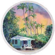 Dreams Of Kauai Round Beach Towel