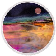 Dreamscape No. 684 Round Beach Towel