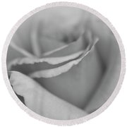 Dreamy Bw Round Beach Towel by Judy Wolinsky