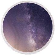 Dreamy Milky Way Round Beach Towel