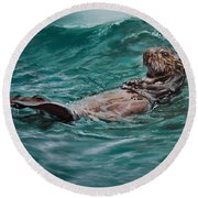 Drifter Round Beach Towel