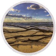 Drifting Round Beach Towel