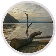 Driftwood Directional Round Beach Towel