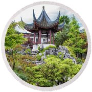 Dr. Sun Yat Sen Classical Chinese Garden, Vancouver Round Beach Towel