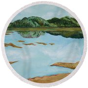 Dry Pass Round Beach Towel