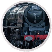 Duchess Of Sutherland Round Beach Towel