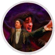 Dudamel Round Beach Towel