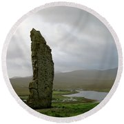 Duirinish Stone Round Beach Towel