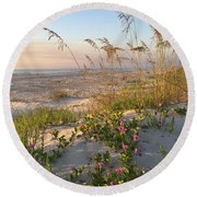 Dune Bliss Round Beach Towel