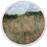 Dune Days Round Beach Towel