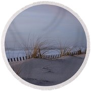 Dune View 2 Round Beach Towel by  Newwwman