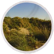 Round Beach Towel featuring the photograph Dunes IIi by Cassandra Buckley