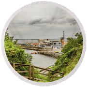 Dunmore Cove Round Beach Towel