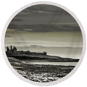 Dunstanburgh Round Beach Towel