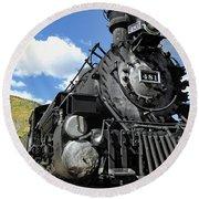 Durango Silverton Locomotive 481 - Pride Of Colorado Round Beach Towel