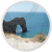 Durdle Door Photo 3 Round Beach Towel