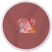 Durga Round Beach Towel