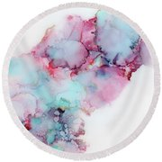 Dust In The Wind Round Beach Towel