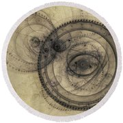 Dust Off The Clock Round Beach Towel