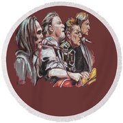 The Eagles Round Beach Towel