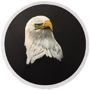 Eagle Earl's Power Round Beach Towel