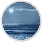 Early  Morning Splendor Round Beach Towel
