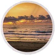 Early Morning Walk Round Beach Towel