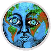 Earthface Round Beach Towel