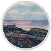 East Kaibab Monocline Round Beach Towel