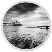 Eastbourne Pier Round Beach Towel