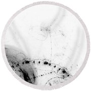 Echo 1 Round Beach Towel