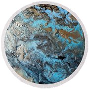 Eclectic Eccentricity Round Beach Towel