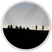 Eclipse Two Round Beach Towel