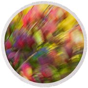 Ecstasy Round Beach Towel