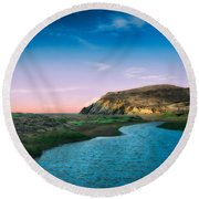 Effect Of Dreams Round Beach Towel