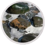 Effervescence Round Beach Towel