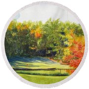 Eighteenth Hole Round Beach Towel