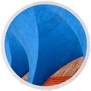 Ekklisia Round Beach Towel by Paul Wear